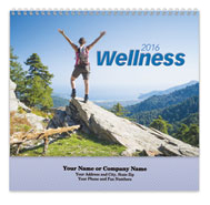 Wellness Spiral Wall Calendar