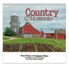 Country Memories Spiral Wall Calendar