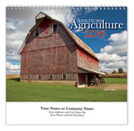 Agriculture Wall Calendar - Spiraled