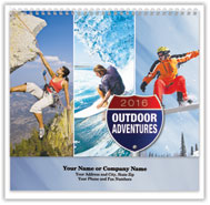 Outdoor Adventures Spiral Wall Calendar