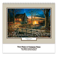 Woodland Retreat Spiral Wall Calendar