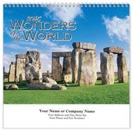 Wonders of the World Wall Calendar - Spiraled