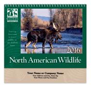 North American Wildlife Spiral Wall Calendar