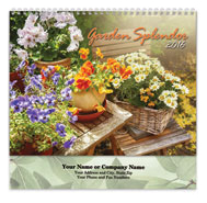 Floral Spiral Calendar