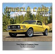 Muscle Cars Spiral Wall Calendar