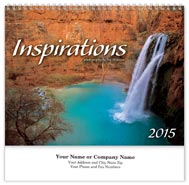 Inspirations Wall Calendar - Spiraled