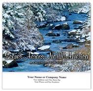 Scenes Across America Wall Calendar - Spiraled