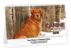 Canine Companions Desk Calendar
