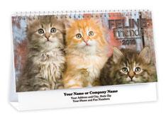 Cute Cats Desk Calendar
