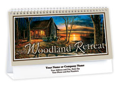 Woodland Retreat Desk Calendar