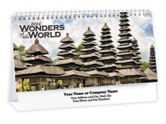 Ancient Wonders Desk Calendar