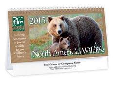 North American Wildlife Desk Calendar