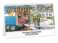 Funny Murphy's Laws Desk Calendar
