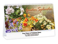 Floral Desk Calendar