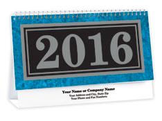 Marble Texture Desk Calendar