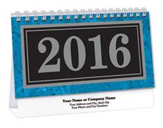 Deluxe Scenic Marble Desk Calendar