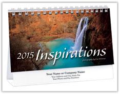 Inspirations Deluxe Desk Calendar