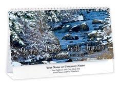 Scenes Across America Deluxe Desk Calendar