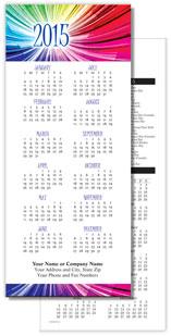 Rainbow Economy Calendar