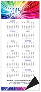 Rainbow Magnetic Economy Calendar