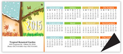 Four Seasons Horizontal Magnetic Economy Calendar