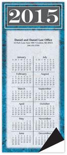 Marble Magnetic Economy Calendar