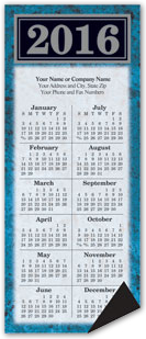 Marble Texture Magnetic Calendar