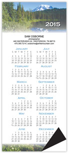 Scenic Magnetic Economy Calendar
