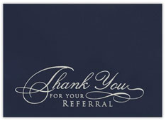 Elegant Referral Thanks
