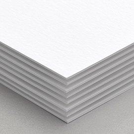 A photo of our 32pt Ultra Matte paper stock