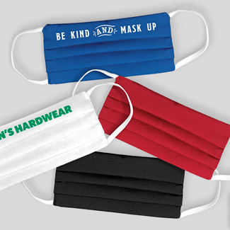 Cloth face masks with your logo.