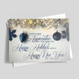 Holiday Cards spread goodwill.