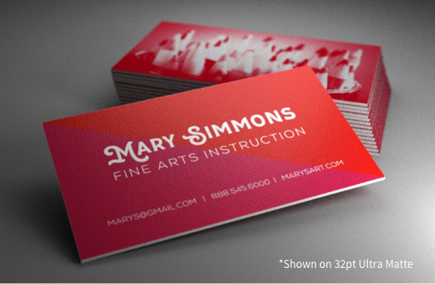Business cards by 123print create a custom design reheart Gallery