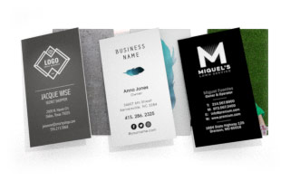 Business cards by 123print standard vertical 25 x 3 reheart Image collections