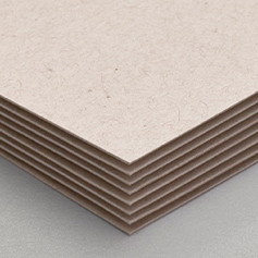123Print's 130# Brown Kraft Recycled paper stock
