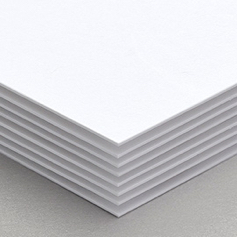 123Print's 16pt UV Uncoated matte paper stock