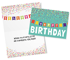 Birthday Confetti Card