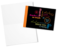 Multiple Colors of Thanks