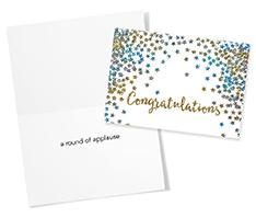 Sparkling Gold Congratulations