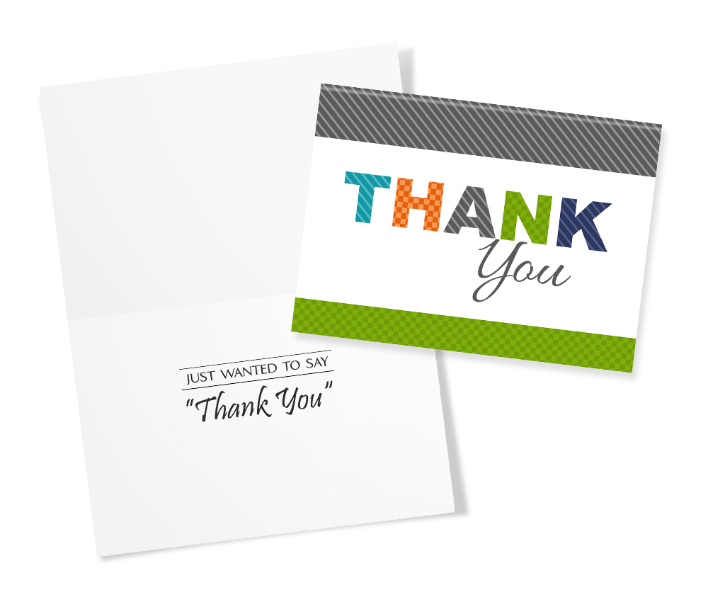 30 Assorted Thank You Greeting Cards For Business