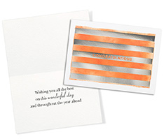 Sherbet Congratulations Card