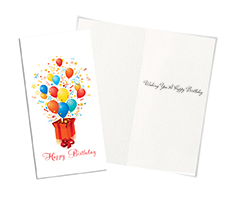 Outside the Box Birthday Card
