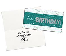 Birthday Card Assortment (100)