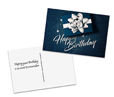 A Dazzling Gift Postcard
