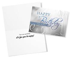 Subtle Gray Birthday