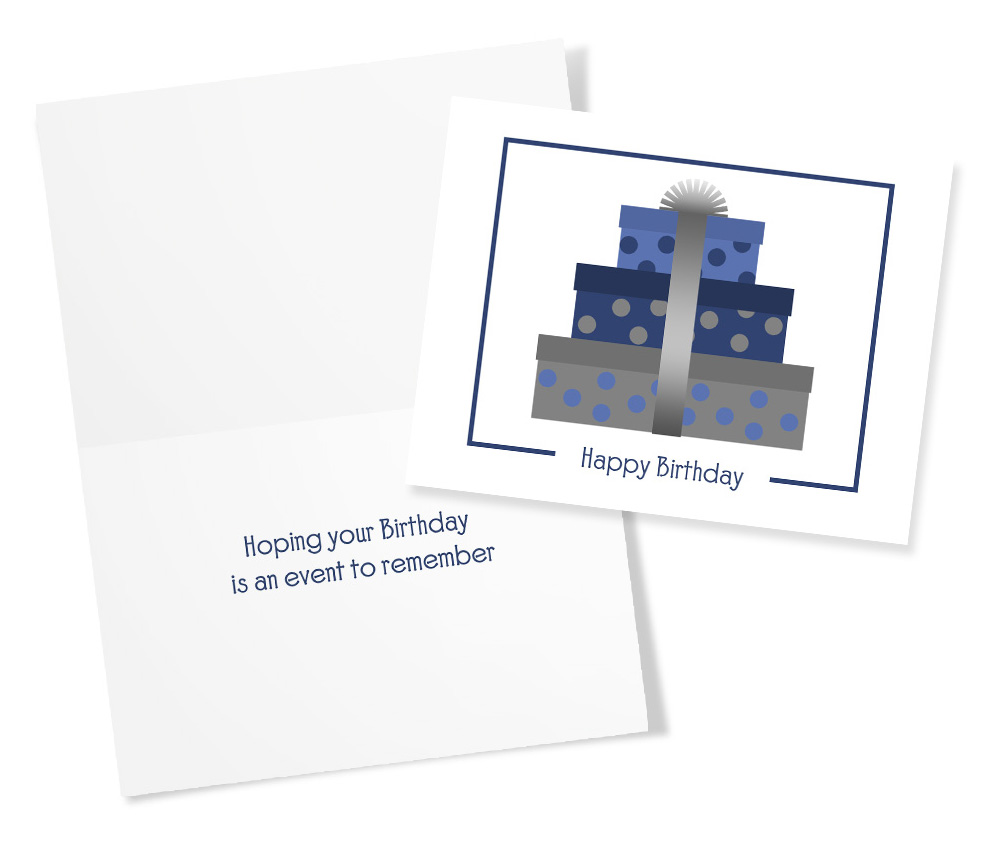 All Blues 50 Assorted Greeting Cards For All Occasions