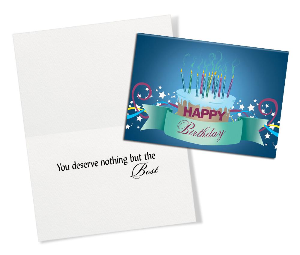 Birthday Basics 50 Assorted Birthday Greeting Cards