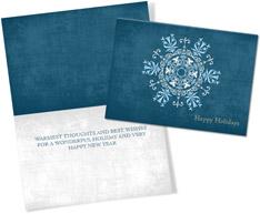 Intricate Snowflake Blues