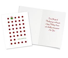 Christmas Dots and Gift