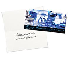 Wild Ribbon Anniversary Card